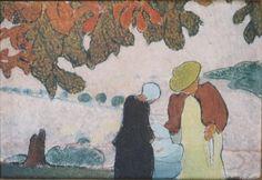 Le marronnier, Peinture de Maurice Denis