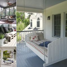 15 Amazing Porch Seating Ideas for a Fabulous Time Outdoor - http://www.amazinginteriordesign.com/15-amazing-porch-seating-ideas-for-a-fabulous-time-outdoor/