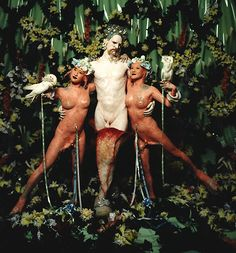"""Giant from """"Cremaster 5,"""" 1997. A film by Matthew Barney © Matthew Barney."""