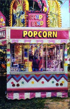 """""""Candy Land""""  Colored Pencil, © Michael Burrows"""