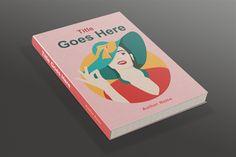 Atinatin Book Cover Template Designs.net #BookCover #Template #Designs #GraphicDesign #Author #Story #Publisher