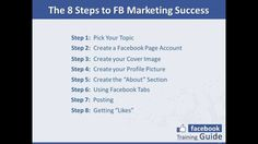 8 Steps To Facebook Marketing Success - Facebook Marketing Made Easy - https://www.xing.com/profile/Julian_Parer/activities