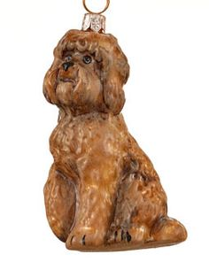 Polish Glass Labradoodle Ornament http://www.doggiechecks.com/ornaments/Labradoodle.php