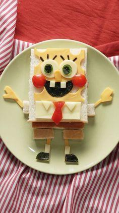 Cute Snacks, Snacks Für Party, Cute Food, Good Food, Yummy Food, Food Art For Kids, Food Kids, Creative Food Art, Easy Food Art