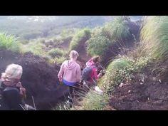 Hiking Down Batur Volcano Bali, Indonesia Crater Lake Danau Batur - YouTube
