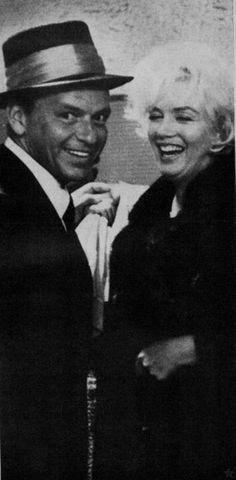 Frank Sinatra and Marilyn Monroe.