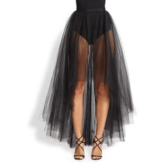 ML Monique Lhuillier Tulle Overlay Skirt ($198) ❤ liked on Polyvore featuring skirts, bottoms, doll parts, legs, dolls, high low evening skirt, tulle overlay skirt, ml monique lhuillier, tulle skirt and overlay skirt
