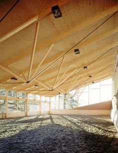 St. Gerold Riding Hall by Hermann Kaufmann © Ignacio Martinez