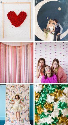 Wedding Bells: The Best DIY Photo Booths