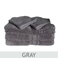 Charisma® 100% Hygro Cotton 674 GSM 6-pc. Towel Set Costco Towels