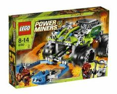 LEGO® Power Miners Claw Catcher 8190 by LEGO. $68.85. 1 Infernox fire monster and 1 miner minifigure. Claw Catcher features giant grabbing claw arms, opening fire-proof opening cockpit and x-treme off-road wheels. Include a nitrogen tank to put out lava monsters. Grab Infernox and then extinguish him in a liquid nitrogen bath. 259 LEGO pieces. From the Manufacturer                When the Infernox gets too hot to handle, only the Claw Catcher can take the heat!  Gr...