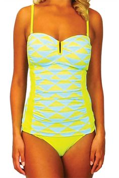 14 Bathing Suits That Offer Style & Support #refinery29  http://www.refinery29.com/bathing-suits-for-big-busts#slide13