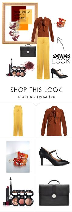 """""""Analogous color Scheme"""" by luvfashiondesign on Polyvore featuring Etro, MaxMara, Brinley Co, Laura Geller, Smythson and Arca"""