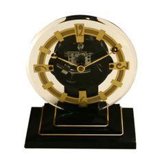 ATO Medium Round Clock with Bakelite Base