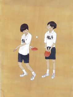 Ping Pong by Taiyo Matsumoto Japan Illustration, Illustration Sketches, Character Illustration, Graphic Design Illustration, Illustrations Posters, New Fashion, Autumn Fashion, Quirky Art, Japanese Art