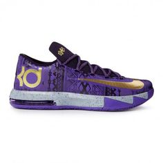 I got to have these!!!!!! Nike Kd Vi Bhm 646742-500 Sneakers — Basketball Shoes at CrookedTongues.com