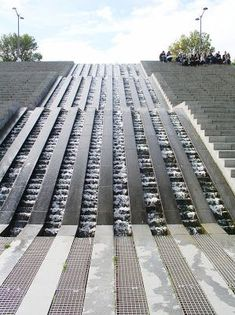 From Paris with Love: Parc de Bercy #landscapearchitecturewater