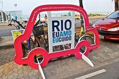 Dia mundial sem carro Rio eu amo eu cuido