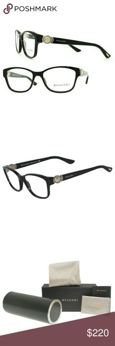 e72f32a79a9 Bvlgari Eyeglasses New and authentic Bvlgari Eyeglasses Black frame  Includes original case Bvlgari Accessories Glasses