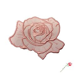 "Dusty Rose Patch The much requested dusty-pink version of our Rose Patch is finally here! This executive quality patch measures 2 7/8"" tall..."