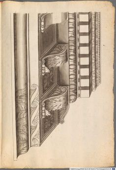 209 e: Scan Architecture Drawings, Architecture Details, Corinthian Order, Stone Cladding, Prints, Hearths, Plaster, Fireplaces, Archive