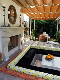 Dream Decks and Patios : Outdoors : Home & Garden Television Love the sublevel seating