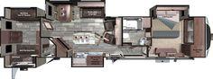 Open Range 3X 3X427BHS Floorplan