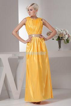 free shipping new style 2014 david bridal design hot seller high neck gown brides maid dresses beading orange Celebrity Dresses