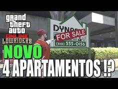 GTA V NOTICIA - ATÉ 4 APARTAMENTOS NO GTA V ONLINE !? DLC LOWRIDERS NOVI...