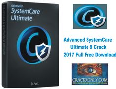 Advanced SystemCare Ultimate 9 Crack 2017 Full Free Download