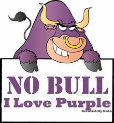 Purple all the way!