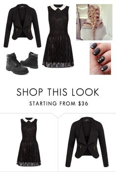 """""""Cute Life Style"""" by neonlovelips ❤ liked on Polyvore featuring Lipsy, Tt Collection and Timberland"""