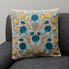 Dora Decorative Pillow (India) | Overstock.com Shopping - The Best Prices on Throw Pillows & Covers
