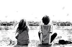 """Képtalálat a következőre: """"anime girl and boy sitting together"""""""