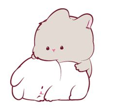 LINE Creators' Stickers - Two little rabbits Example with GIF Animation Cute Bunny Cartoon, Cute Kawaii Animals, Cute Cartoon Pictures, Cute Love Cartoons, Cute Bear Drawings, Cute Animal Drawings Kawaii, Cute Cartoon Drawings, Kawaii Drawings, Cute Love Pictures