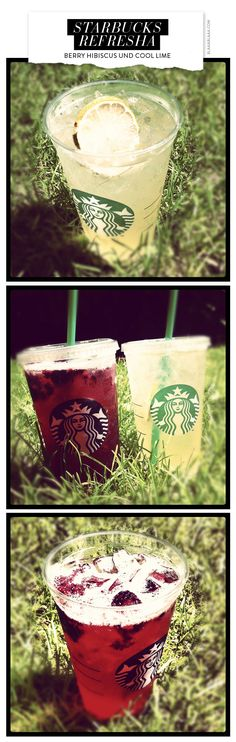 Sommerdrink ahoi: Starbucks Refresha!