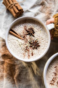 Chai Cashew and Hemp Latte   halfbakedharvest.com @hbharvest