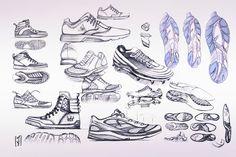 Sketch Book 14-15 by Marc Van Tichelen