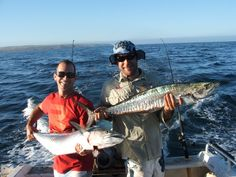 Great Kalbarri fishing, while staying at Kalbarri Seafront Villas.