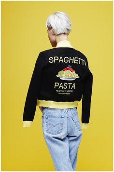 spaghetti pasta…An Italian Theory - SS15