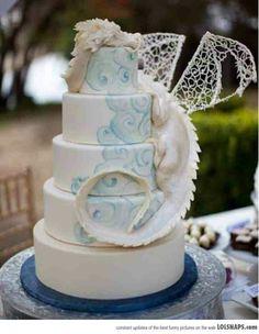 Dragon Handfasting / Wedding Cake