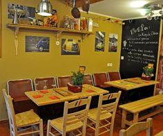 Rosticceria di Salonicco - biscotto.gr thessaloniki life guide Thessaloniki, Conference Room, Table, Furniture, Home Decor, Decoration Home, Room Decor, Tables, Home Furnishings