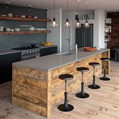 Charming Omicron Granite For A Rustic Kitchen With A  Home Design Ideas