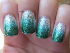 love these gradient-style manicures!