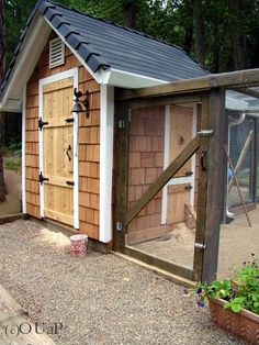 shed+chicken coop
