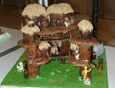 Gingerbread Ewok Village...so much awesome! (Blog:geek with curves: December 2011)