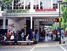 Allen Street Grill; I miss the Corona Club.