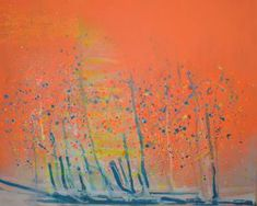 Original Abstract Painting by Ela Czerwinska Original Art, Original Paintings, Abstract Expressionism Art, Buy Art, Saatchi Art, Canvas Art, Thoughts, Orange Red, The Originals
