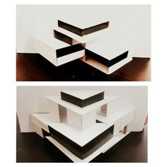 Models... I hope I get it right the third time.  #architecture #model #museum #art #design
