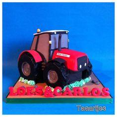 Massey Ferguson Tractor cake